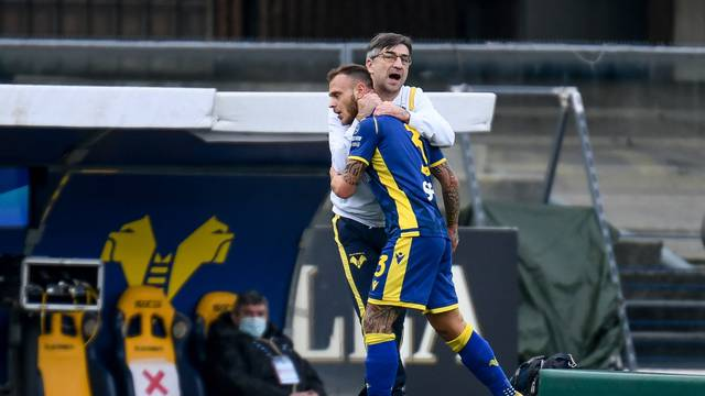 Italian football Serie A match - Hellas Verona vs SSC Napoli