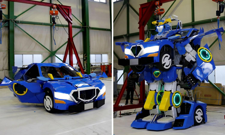 Napravili pravog Transformera, za minutu se pretvara u auto