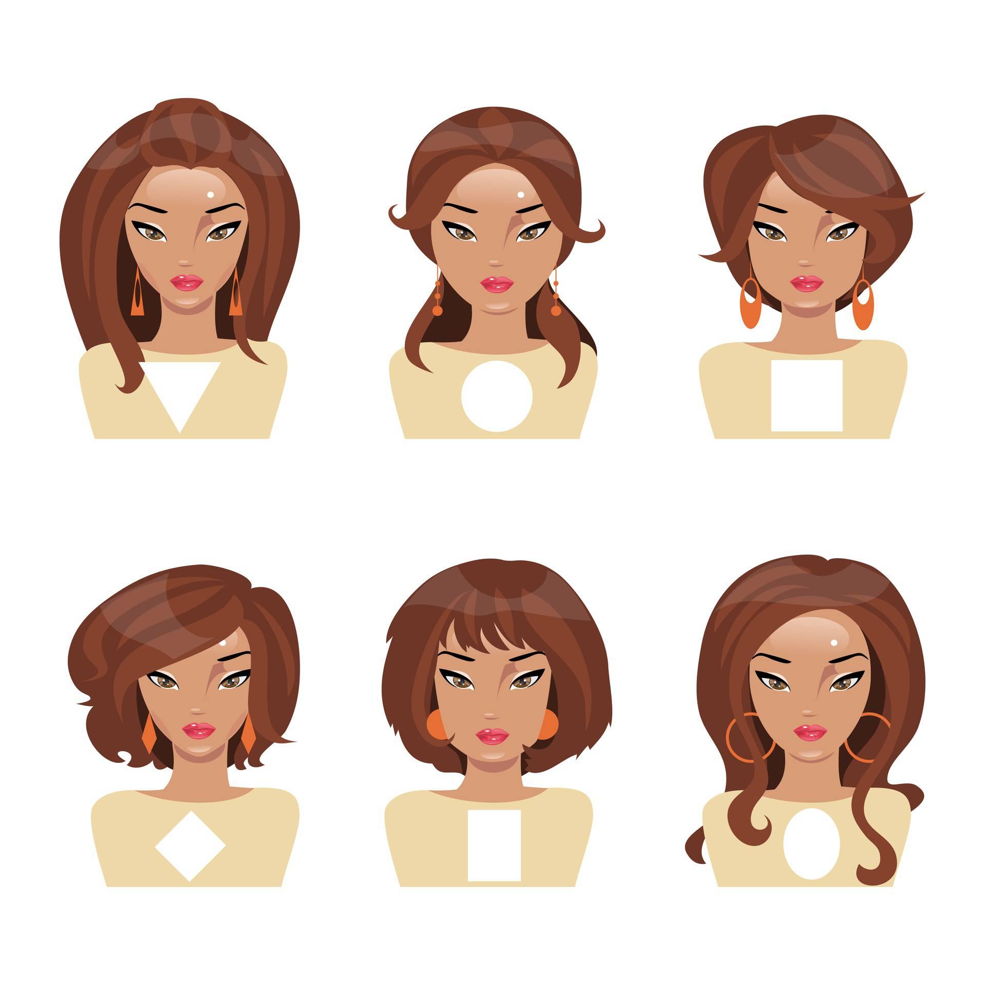 Pronađite svoju idealnu frizuru ovisno o konturama i obliku lica