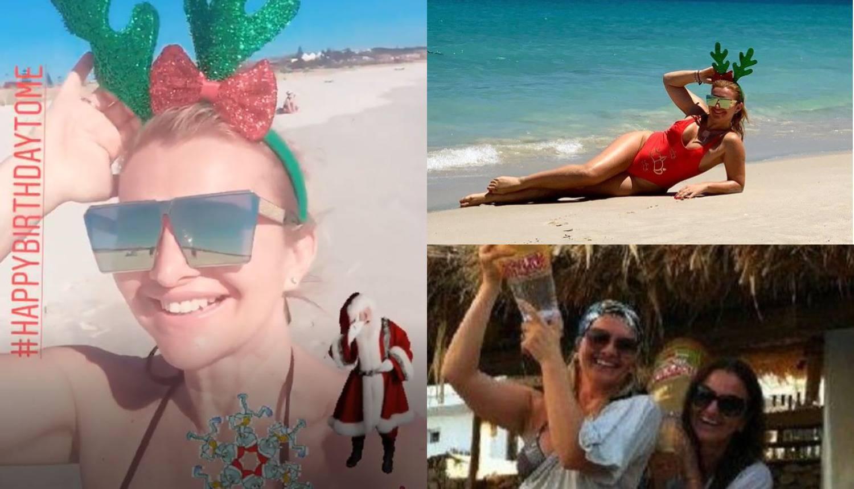 Ma kakav bijeli Božić: Snježana Mehun zabavlja se u Australiji