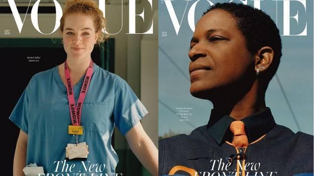 One ne rade od doma: Vogue umjesto modela na naslovnicu stavio junakinje prve linije