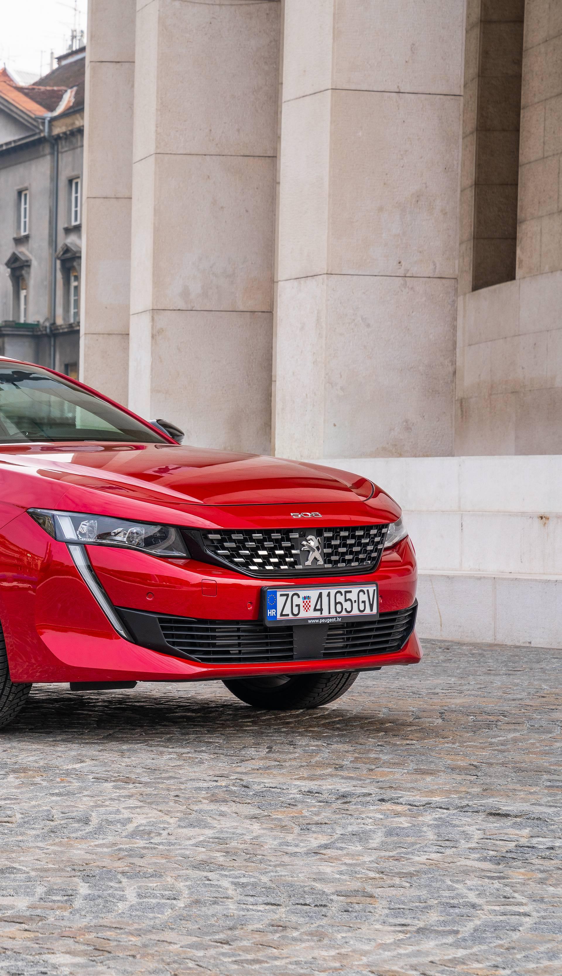 Najimpresivniji Peugeot ikad: Novi 508 stigao je u Hrvatsku