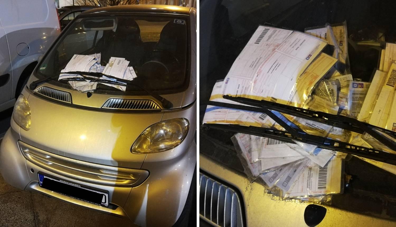 Usred Zagreba: Na parkingu je mjesecima, kazne se gomilaju!