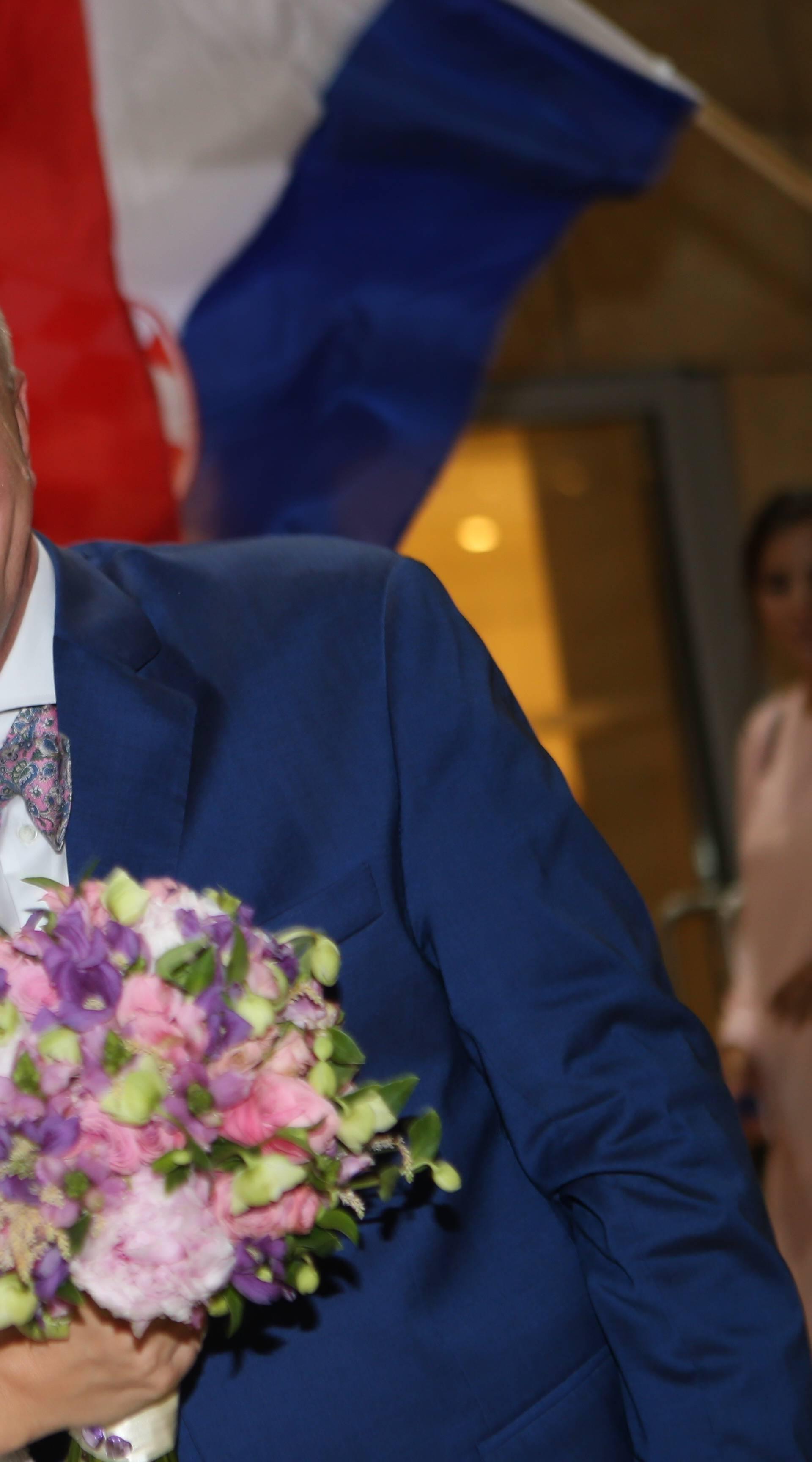 Podstrana: Svadbena večera kćeri Mate Bulića, Katje i Tome Drmića u hotelu Le Meridien Lav