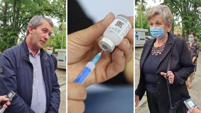 VIDEO Katarina (70) je milijunta cijepljena Hrvatica: 'Čekala sam da se prvo cijepe ovi potrebitiji'