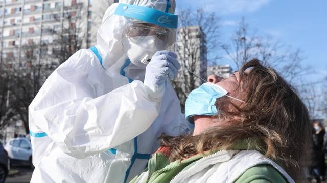 Zagreb: Otvorenju brzog testiranja na COVID-19 u Sigetu nazočio i Milan Bandić