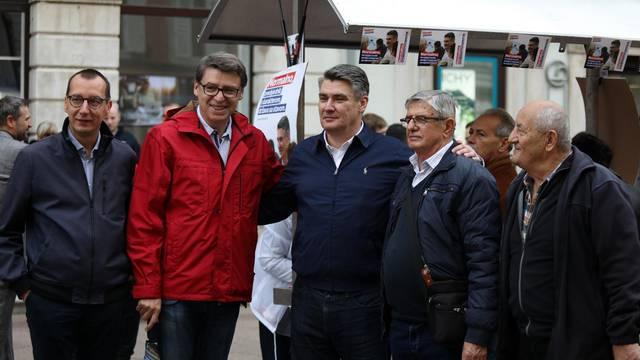 Milanović je za samo tri sata skupio 10.000 potpisa građana