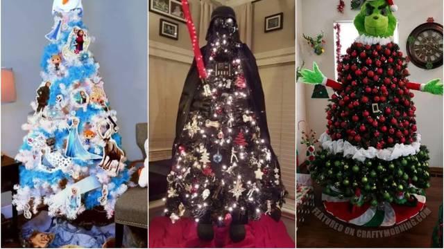 Tematska božićna drvca