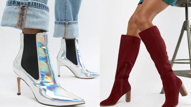 Trendovi za jesen: Visoke čizme i futurističke metalik nijanse