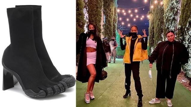 Neobične štikle: Rihanna je izabrala nove 'ugly' cipele