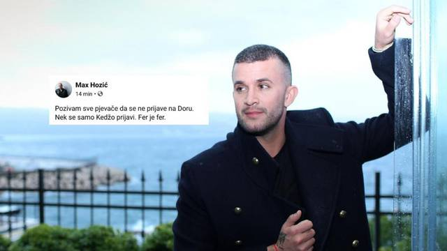 Pokrenuo je 'bojkot' Dore: Sve pjevače molim da se ne prijave