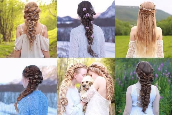 Igre pletenica: Čarobne frizure stvaraju dvije sestre sa sjevera