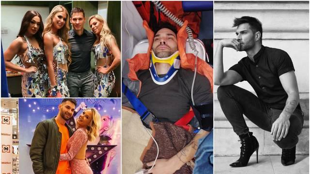 Plesač Alen nepokretan nakon teške nesreće: Putovao sam do 'Uraganki' zbog koreografije...