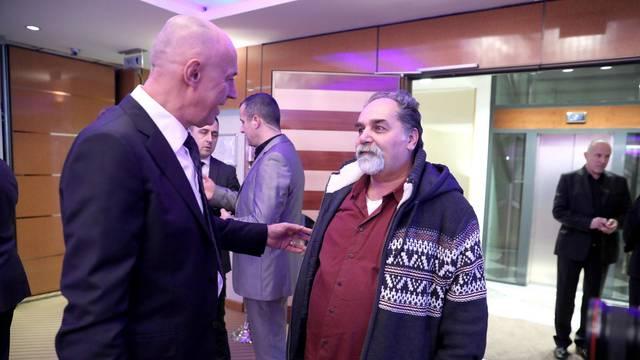 Zagreb: Izborni stožer Miroslava Skore u hotelu Dubrovnik
