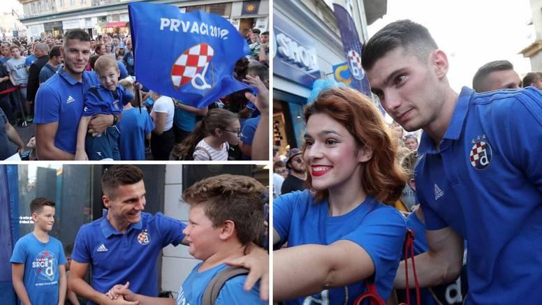 Gojak 'pošarao' pola Zagreba, Dinu Perića već zaboljele noge