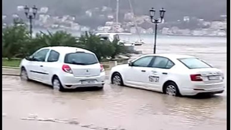 Kiša, poplave i odroni: Jako nevrijeme pogodilo Crnu Goru