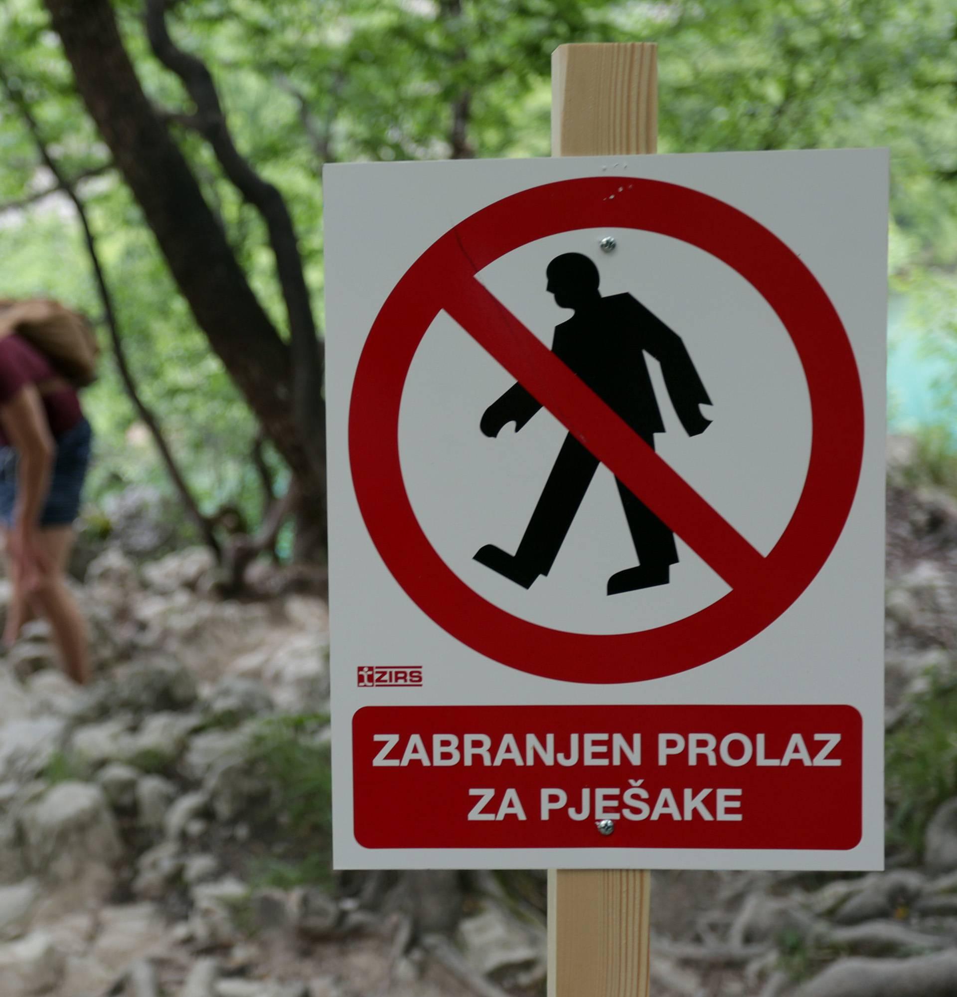 Moli goste: 'Ne idite van staze, zbog fotki mnogi stradavaju'