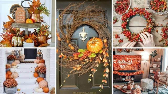 Top 20 jesenskih dekora: Detalji koji će domu dati puno topline