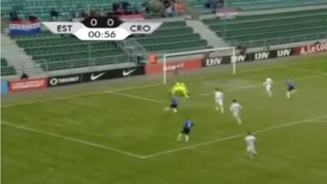 VIDEO Pogledajte najbrži gol kojeg je Hrvatska ikad primila