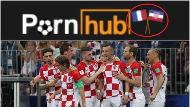 PornHub: Pao promet u finalu, a 'fulali' su i hrvatsku zastavu