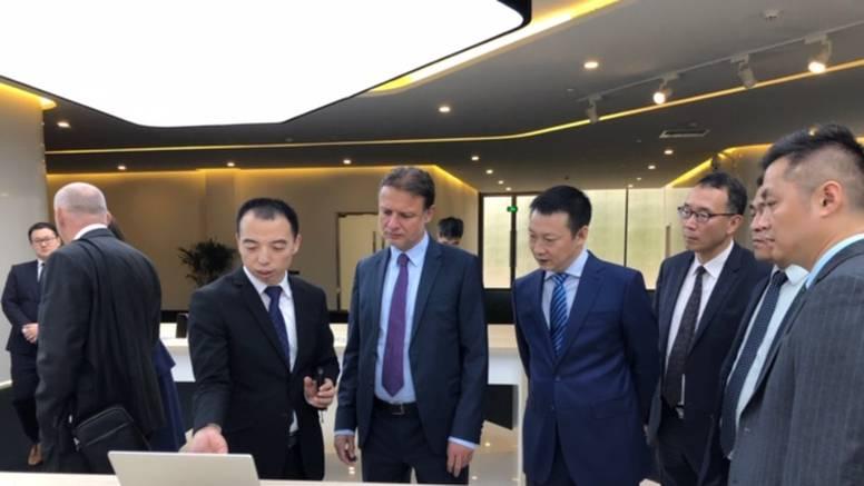 Jandroković posjetio Huawei: 'Imat će nove projekte kod nas'