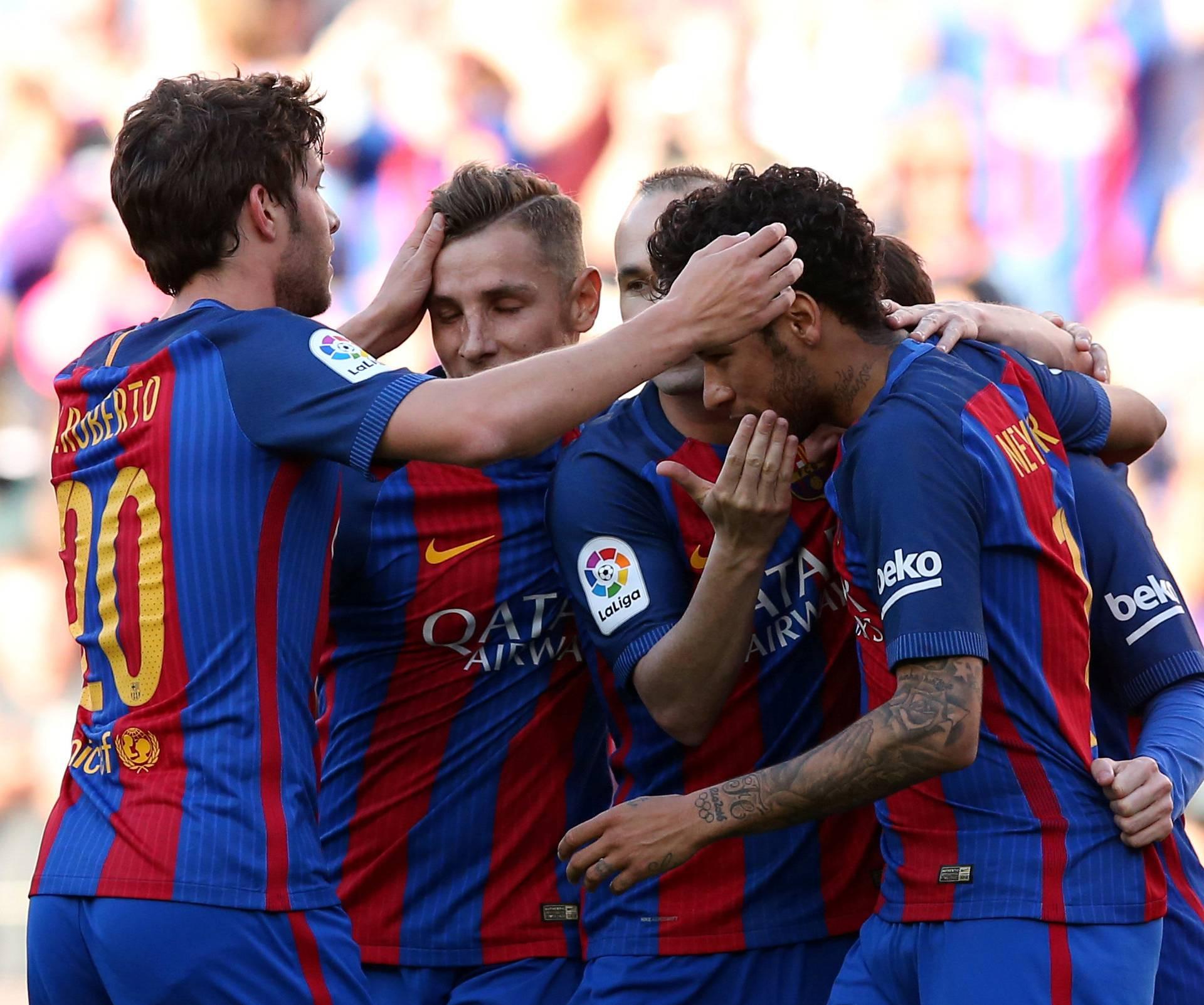 Football Soccer - Barcelona v Villarreal - Spanish La Liga Santander - Camp Nou stadium