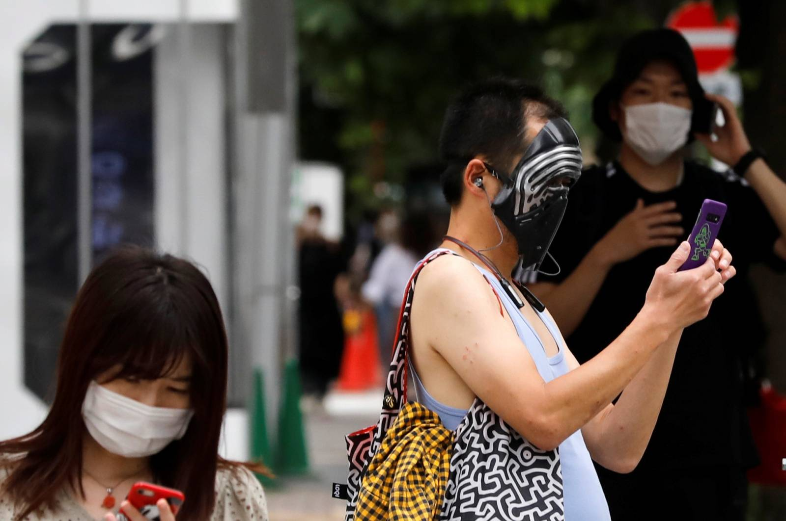 The coronavirus disease (COVID-19) outbreak, in Tokyo