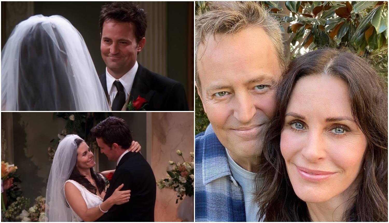 Nije glumio: 'Chandler je i u stvarnom životu volio Monicu'