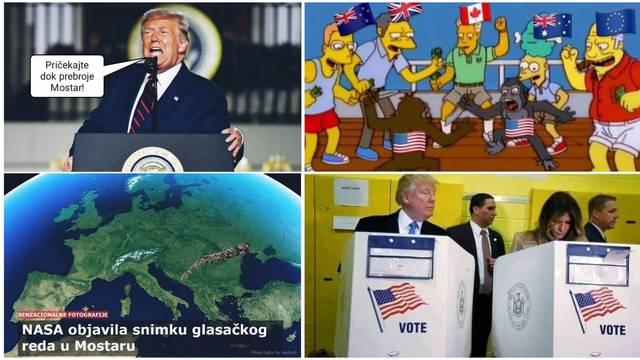 'Pričekajte da prebroje Mostar': Europljani ne razumiju izbore u SAD-u, Amerikanci ih sprdaju...