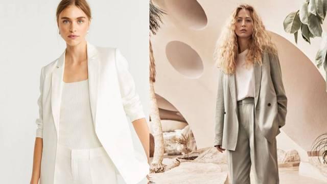 Ljetni dress code za ured: Lagani sakoi, lepršave hlače i bluze