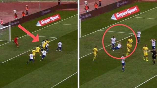 Penal ili ne? Hajduk poveo na Poljudu nakon sumnjivog faula