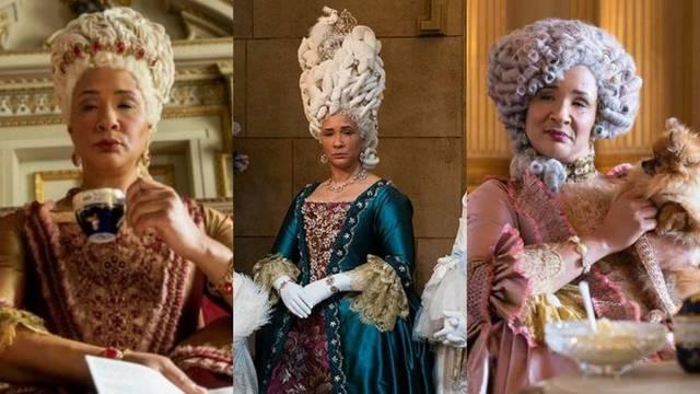 Važna kao i haljina: Kraljica Charlotte u seriji Bridgerton ima novu veliku periku za svaki bal