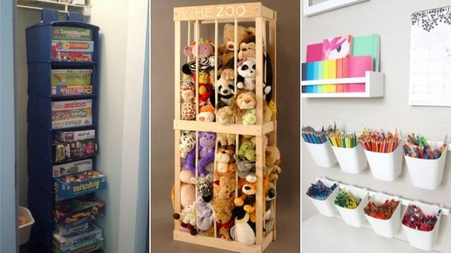 20 ideja kako organizirati dječju sobu i zauvijek se riješiti nereda