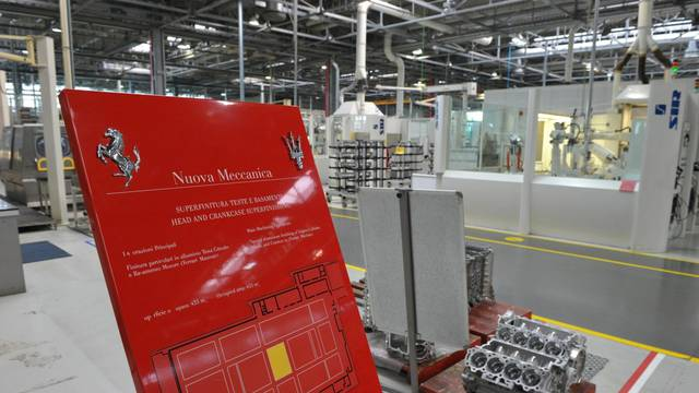 Ferrari factory in Maranello