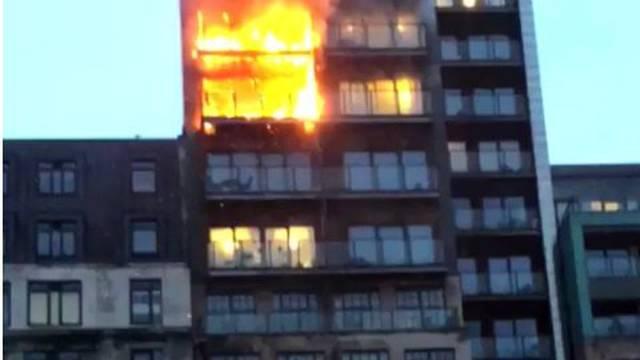 Veliki požar: Buktinja guta zgradu u centru Manchestera