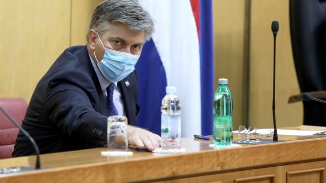 Zagreb: Počela je 3. sjednica Hrvatskoga sabora