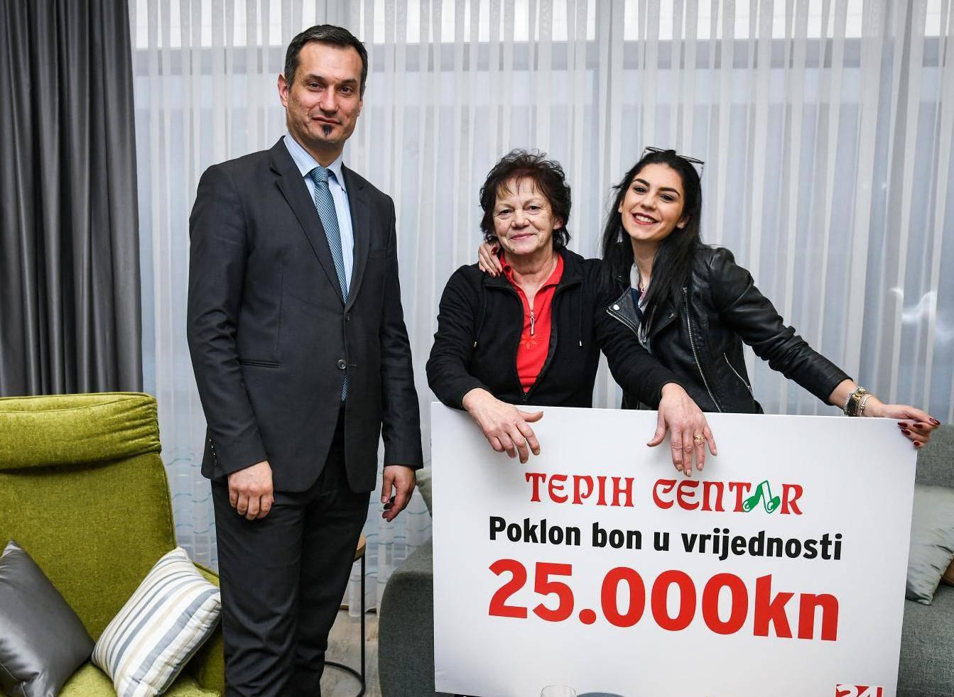 Nada osvojila 25.000 kuna: Uz Tepih centar ću si urediti kuću