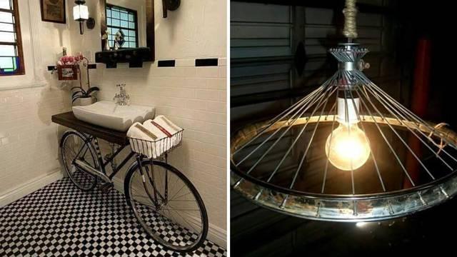 16 kreativnih ideja: Evo što sve možete izraditi od starog bicikla