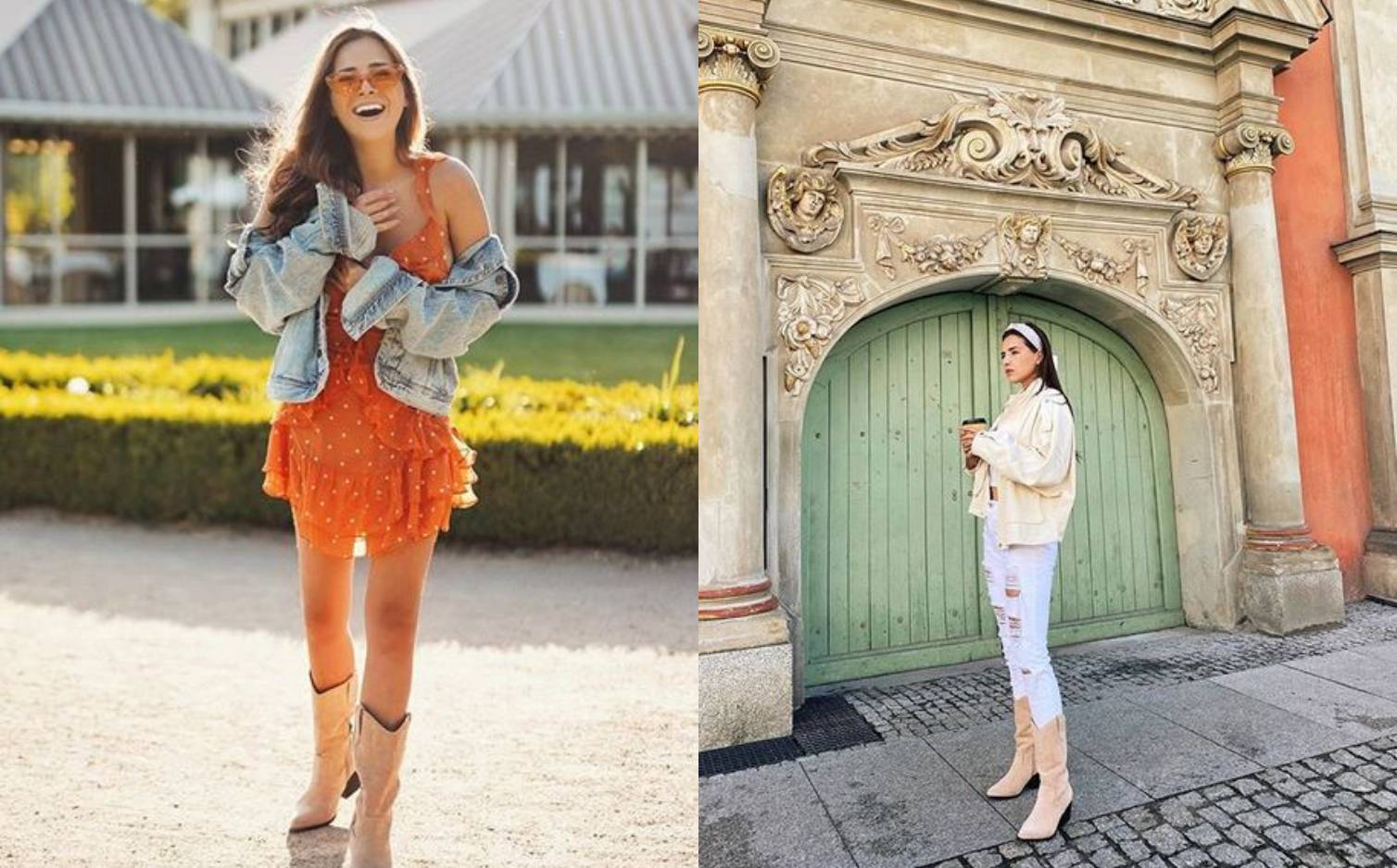 Poljakinja Ola Nowak zna nositi kaubojke na 4 cool kombinacije