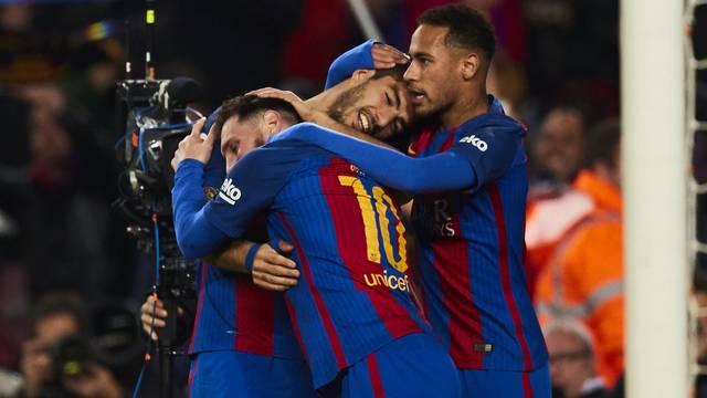 La Liga 2016/2017 - FC Barcelona v RCD Espanyol