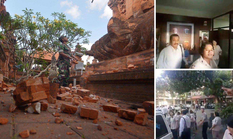 Potres od 6,1 Richtera pogodio Bali, turisti su bježali iz hotela