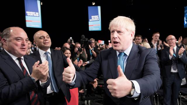 Conservative Party annual conference in Manchester