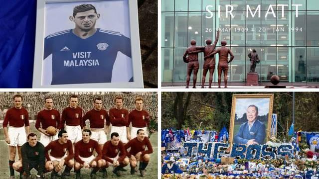 Nogometne tragedije u zraku: Poletjeli i više se nisu vratili...