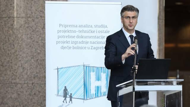 Plenkoviæ i Bandiæ potpisali sporazum prve faze projekta gradnje Nacionalne djeèje bolnice