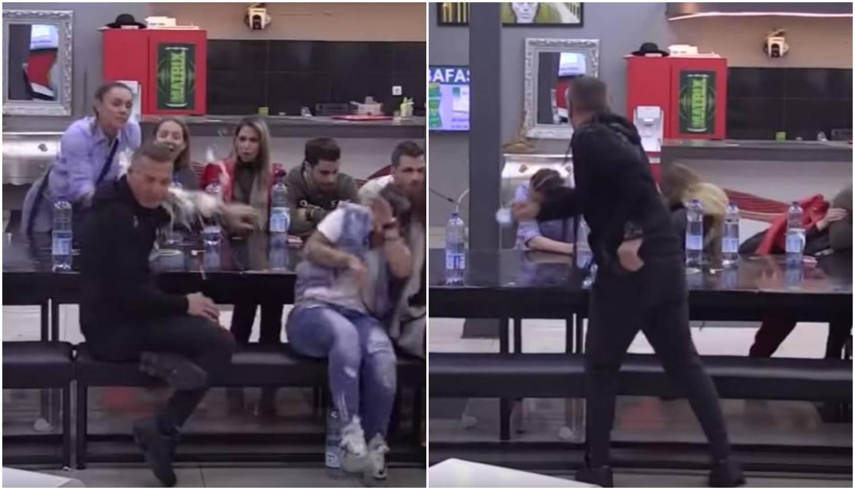 Prolila bivšeg muža vodom pa ju je ispred kćeri gađao bocom