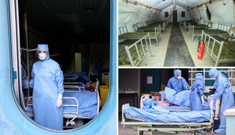 Bolnica straha: Hrabro osoblje KB Dubrava danonoćno radi da bi spasili oboljele od korone