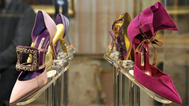 Milan - Exhibition of Manolo Blahnik - the art of shoes