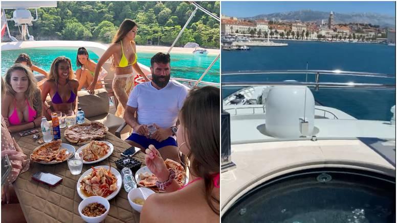 Multimilijunaš je stigao u Split: S djevojkama odmara na jahti