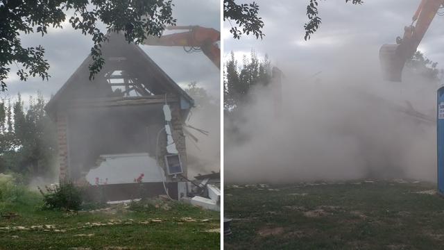 Kuća obitelji Bjelajac srušena je čak 194 dana nakon potresa