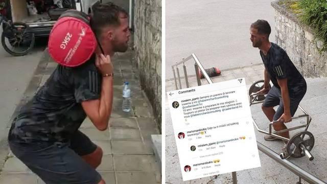 Mandžo zezao Pjanića: Gdje su ti mišići od tolikog treniranja?